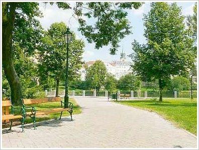park Hořejší Obora