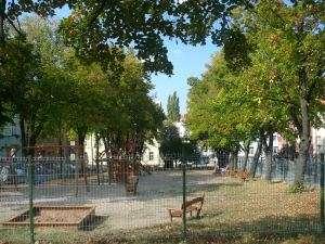 park Komenského náměstí