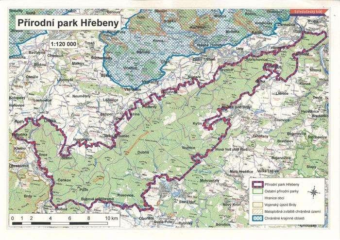 Přírodní park Hřebeny