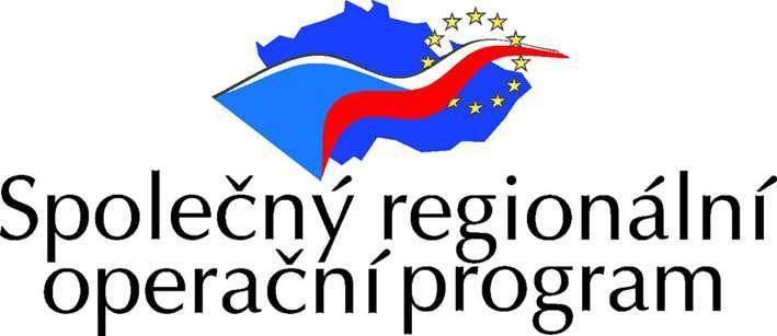 Logo Společný regionální operační program