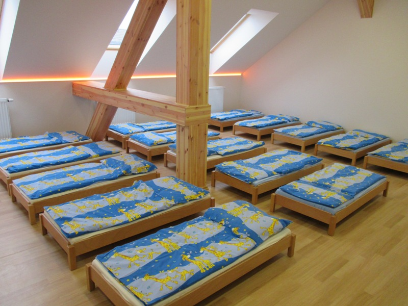 Foto ložnice mateřské školy