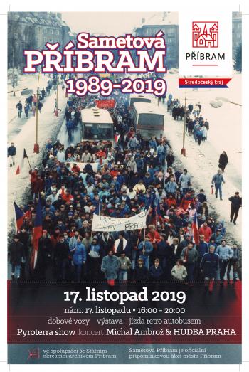 Sametová Příbram – 30 let od Sametové revoluce