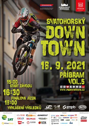 Svatohorský Downtown chystá 5. pokračování sjezdu na kolech