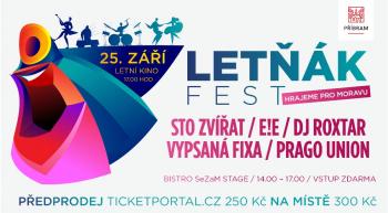 Sezonu ukončí festival Letňák Fest